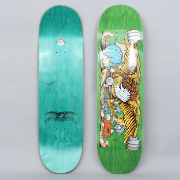Anti Hero 9 Pumping Feathers Skateboard Deck