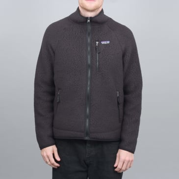 Patagonia Retro Pile Fleece Jacket Black