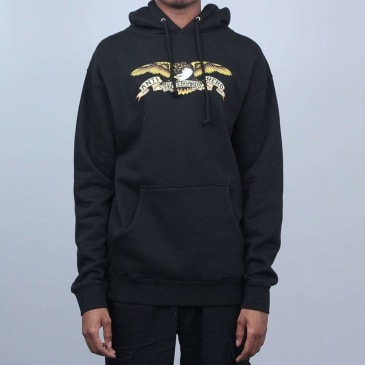 Anti Hero Eagle Hood Black