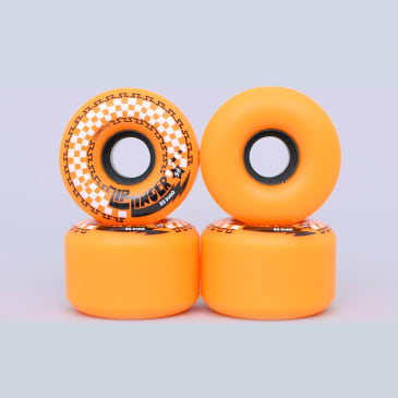 Krooked 58mm 80HD Zip Zinger Wheels Orange