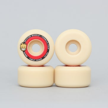 Spitfire 52mm 101DU Formula Four Tablet Wheels Natural