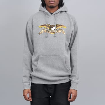 Anti Hero Eagle Hood Gunmetal Heather