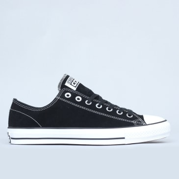 Converse CTAS Pro OX Shoes Black / White Suede