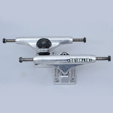 Independent 139 Stage 11 Reynolds Block Hollow Trucks Silver (Pair)