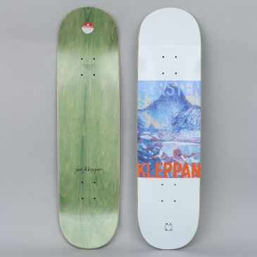WKND 8.25 Kleppan Uncle Geir Skateboard Deck White