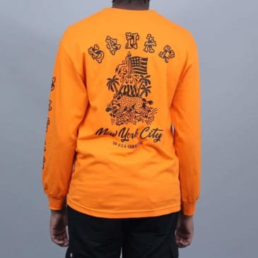 5Boro Hawaii Division Longsleeve T-Shirt Orange