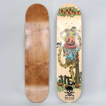 Death 8.25 Cates Pumpkin Skateboard Deck