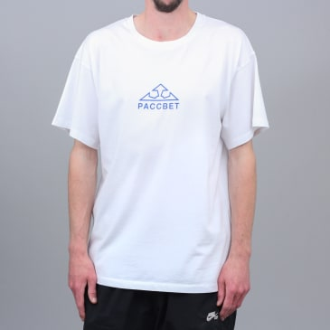 Paccbet Large Logo T-Shirt White