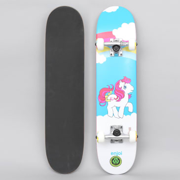 Enjoi 6.75 My First Pony Youth Soft Top Complete Skateboard Blue