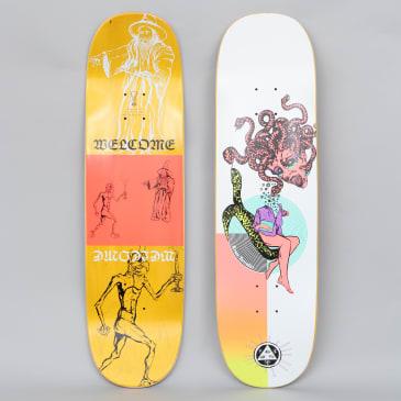 Welcome 8.5 Ryan Townley Gorgon On Enenra Skateboard Deck White / Coral
