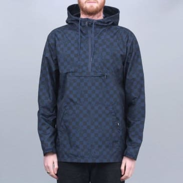 Vans X Independent Checkerboard Anorak Dress Blues