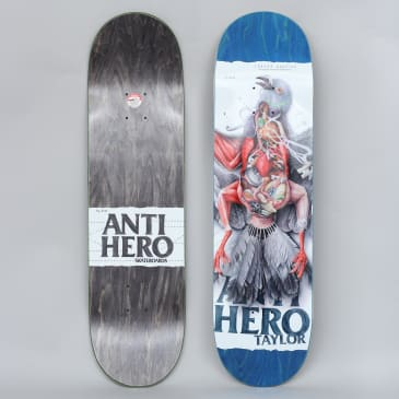 Anti Hero 8.5 Taylor Street Anatomy Skateboard Deck