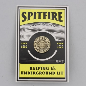 Spitfire Arson Department Lapel Pin