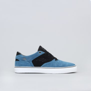 Emerica The Reynolds Low Vulc Youth Shoes Blue / Black / White