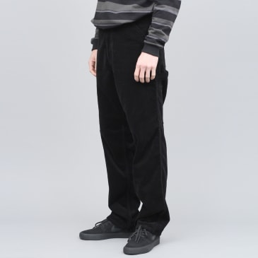 Pop Trading X Carhartt Single Knee Pant Black