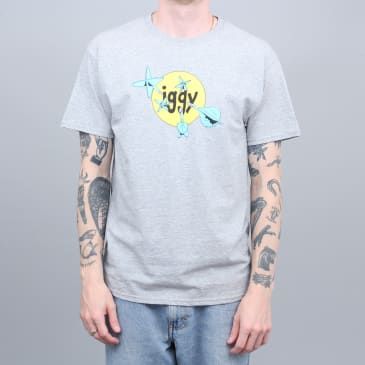 Iggy Throwing Darts T-Shirt Athletic Heather