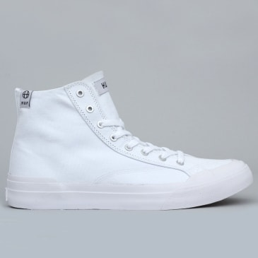 HUF Classic Hi Ess Tx Shoes White