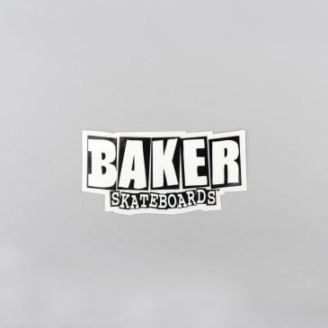 Baker Brand Logo Sticker Black / White