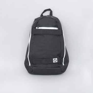 Santa Cruz Plaza Backpack Bag Black