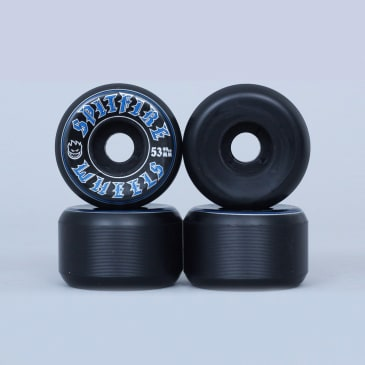 Spitfire 53mm Old English Wheels Black