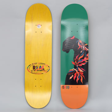 Real 8.3 Ishod X Willian Santiago Slick Skateboard Deck