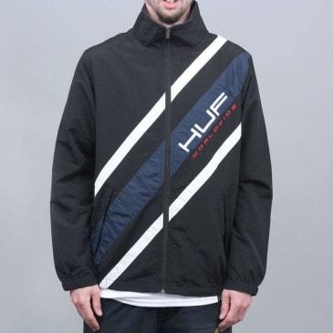 HUF Palisades Track Jacket Black