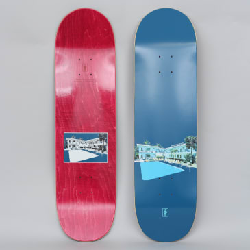 Girl 8.5 Rick McCrank No Vacancy Skateboard Deck Navy