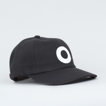 Pop Trading O 6 Panel Cap Black / White