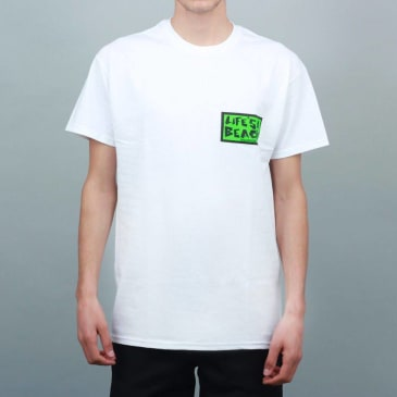 Life's A Beach Get With The Program T-Shirt White