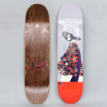 Real 8.06 Davis X Willian Santiago Skateboard Deck