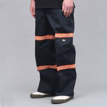 Dickies Gardere Double Knee Reflective Tape Pant Dark Navy