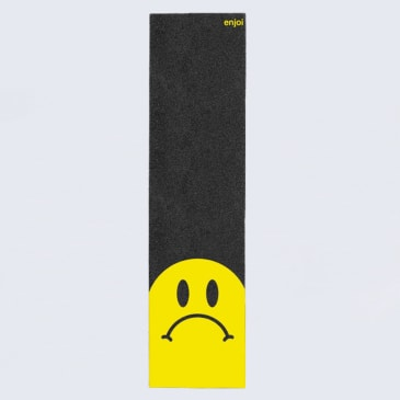 Enjoi Frowny Griptape Black / Yellow