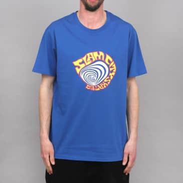 Slam City Skates Lolla T-Shirt Royal Blue