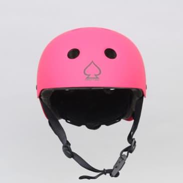 Pro-Tec Classic Fit Certified Youth Skateboard Helmet Matte Pink