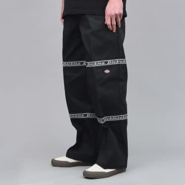 Dickies Gardere Double Knee Reflective Tape Pant Black
