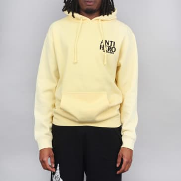 Anti Hero Lil Blackhero Hood Light Yellow / Black
