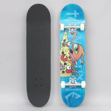 Toy Machine 7.75 Pizza Sect Complete Skateboard Blue