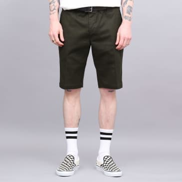 Dickies Slim Fit Shorts Olive Green