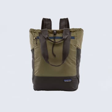 Patagonia Ultralight Black Hole Tote Bag Sage Khaki