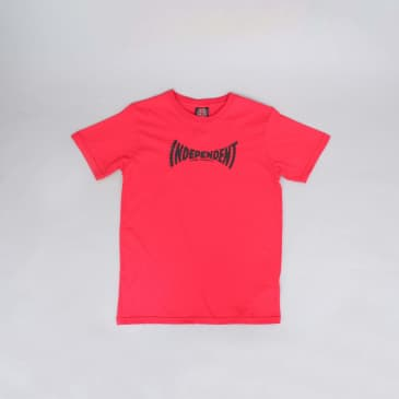 Independent Breakneck Youth T-Shirt Red