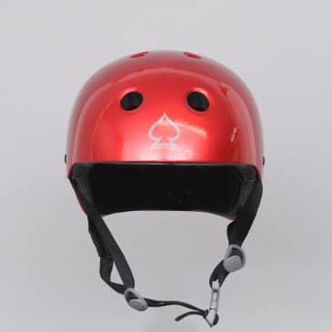 Pro-Tec Classic Certified Helmet Red Metal Flake