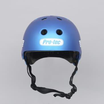 Pro-Tec Old School Certified Helmet Matte Metallic Blue