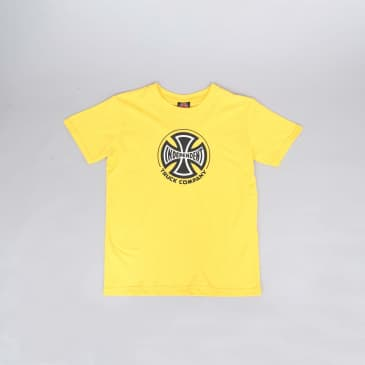 Independent Truck Co Youth T-Shirt Yellow / Black