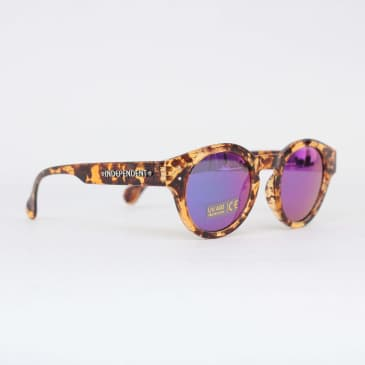 Independent Barrier Mirror Sunglasses Tortoise Shell