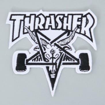Thrasher SK8 Goat Patch White / Black