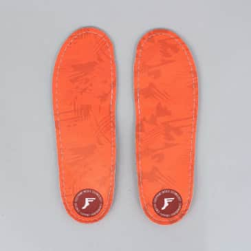 Footprint Kingfoam Orthotics Insoles Orange Camo