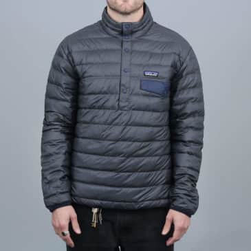 Patagonia Down Snap-T Pullover Forge Grey