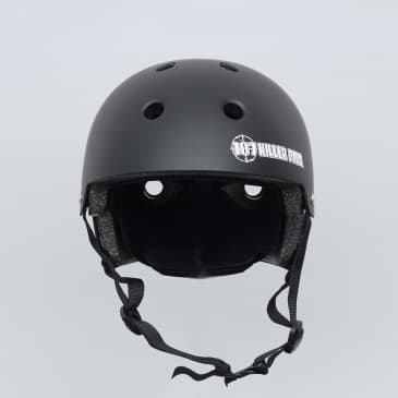 187 Killer Pads Certified Youth Helmet With Adjuster Matte Black