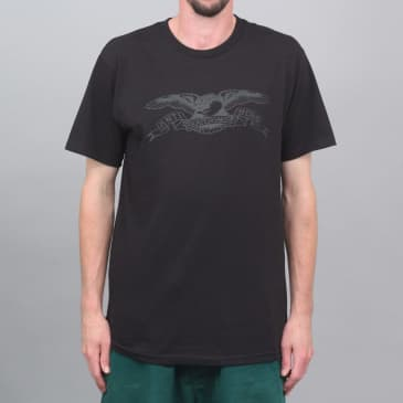 Anti Hero Basic Eagle T-Shirt Black / Black