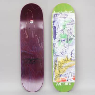 Anti Hero 8.5 B.A. SF Then And Now Skateboard Deck